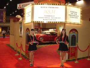 HSM booth entrance